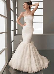 mermaid style trumpet wedding dresses styles of wedding With trumpet style wedding dress