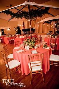 coral weddings With coral color decorations for wedding