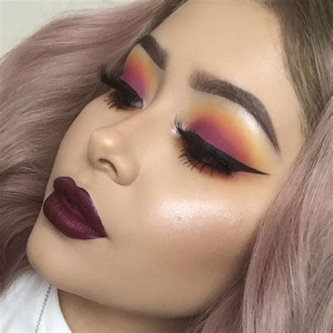 sunset eyeshadow makeup tutorial daisy marquez find