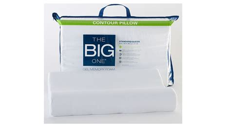 The Big One Gel Memory Foam Contour Pillow Only $1399