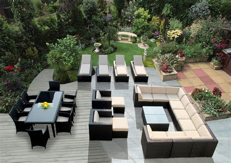 genuine 29 ohana wicker patio furniture set outdoor