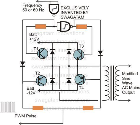 Power Pure Sine Wave Inverter Circuit Diagram Wiring