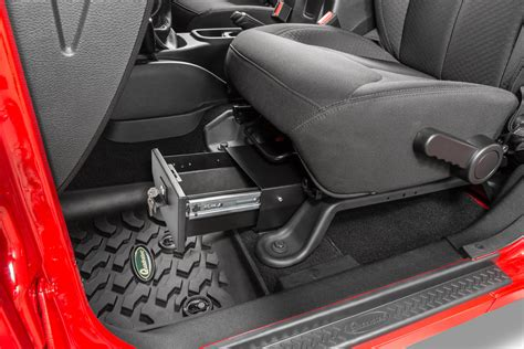 vertically driven products   seat storage vault