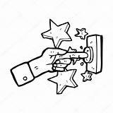 Doorbell Ringing Sonner Sonnette Campanello Suonare Vector Mano Lineartestpilot Depositphotos sketch template