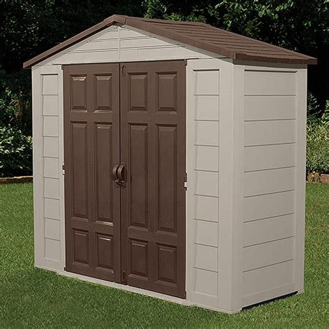 Suncast Outdoor Storage Shed by Suncast 8 X 3 Ft Tool Shed Walmart