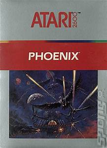 Register Computer Covers Box Art Phoenix Atari 2600 Vcs 1 Of 1