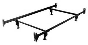 twin size sturdy metal bed frame with headboard and