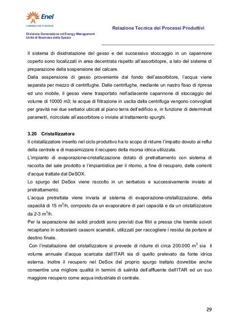relazione tecnica capannone industriale relazione tecnica dei processi produttivi
