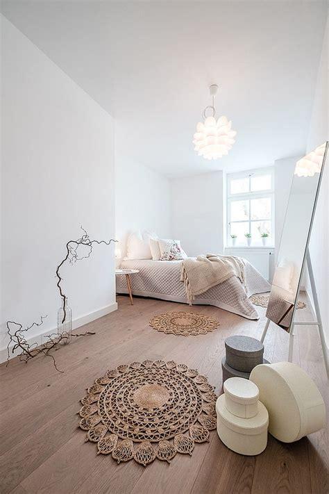 relaxing  chic scandinavian bedroom designs