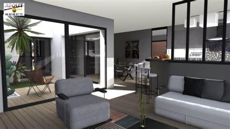 maison plain pied 5 chambres maison de ville avec patio