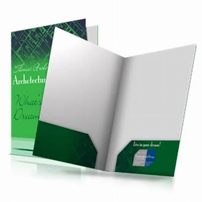 Folders Folder Presentation Pocket Short Run Paper