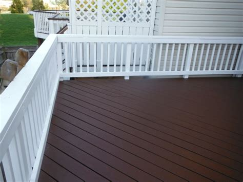 cabot semi solid deck stain oak brown solid deck stain based try cabot solid in cinnamon