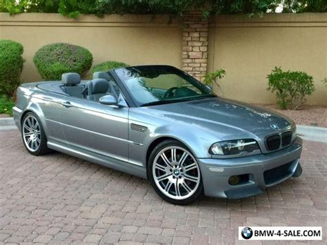 E46 Csl For Sale 2003 bmw m3 e46 m3 convertible csl zhp for sale in united