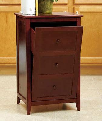 trash can storage cabinet walnut kitchen wooden trash can cabinet tilt out garbage