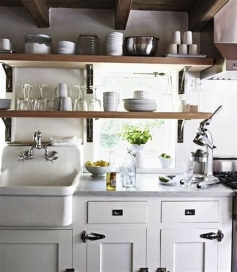 Vintage Industrial Cottage Kitchen  Tiny Homes I Want To