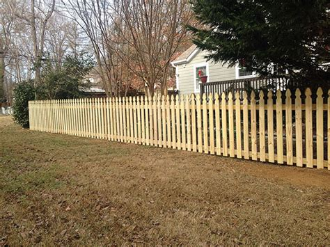 wood fence charlotte nc timber fencing