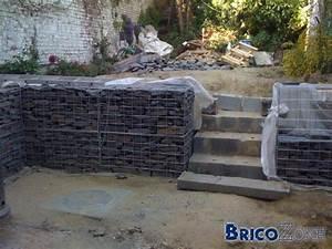 Mur De Soutenement En Gabion : murs de soutenement gabions page 2 ~ Melissatoandfro.com Idées de Décoration