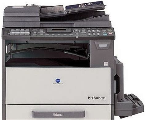Is a japanese multinational technology company headquartered in marunouchi, chiyoda, tokyo, with offices in 49 countries worldwide. Konica Minolta Bizhub 211 Printer Driver Download - Printers Driver
