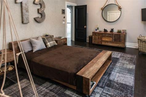 chambre à coucher rustique couleur pour chambre à coucher 111 photos pour s 39 inspirer