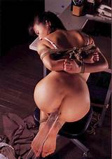 Cute girl in hard bondage