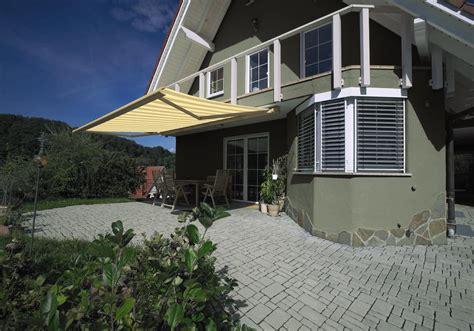 Sonnenschutz Für Terrasse by Sonnenschutz Schmid Warema 550 Kassettenmarkisen