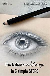 Learn How To Draw A Realistic Male Or Female Human Eye