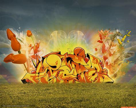 Grafiti Free Fire : Download Wallpaper Tulips, Graffiti, Fire Free Desktop
