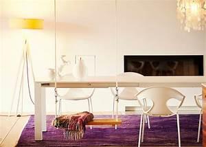 Set De Table Design : fauteuil de table blanc ou noir au design moderne jankurtz ~ Teatrodelosmanantiales.com Idées de Décoration