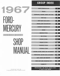 1967 Ford  U0026 Mercury Big Car Shop Manual