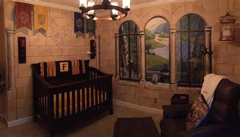 harry potter inspira esta magica habitacion de bebe foto