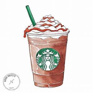 Good objects - Caramel frappuccino! #butfirstcoffee # ...