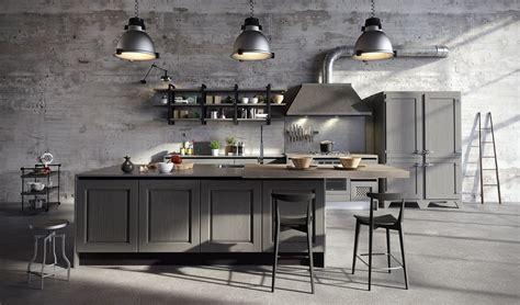 Cucine in stile industriale materiche e vissute Cose di