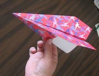 fold  paper airplane favecraftscom