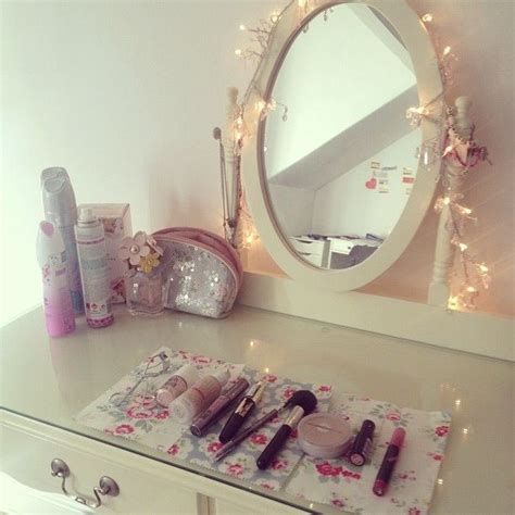 bedroom mirrors with lights around them 138 best girly room images on pinterest 20275 | 5b02fe66dc335db1abe2a6652253a9fd bedroom mint just girly things