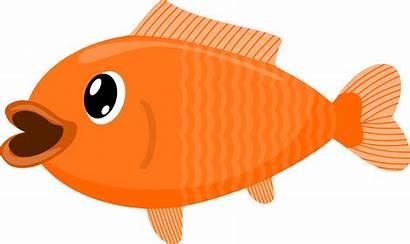 Fish Koi Clipart Transparent Background Goldfish Clip