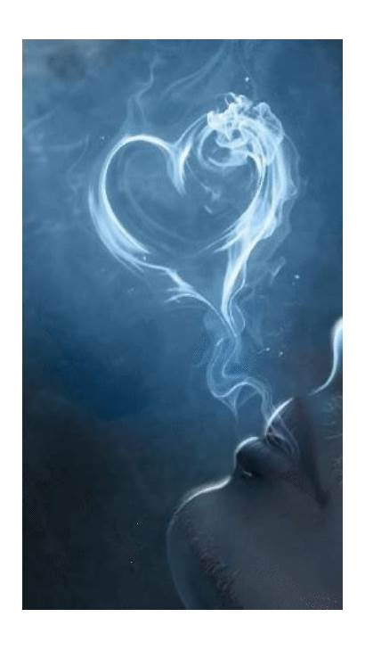 Heart Smoke Animated Phone Cell Hearts Wallpapers