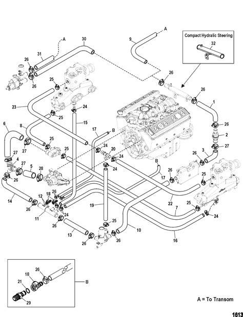 Standard Cooling System Easy Drain FOR MERCRUISER 5.0L,350