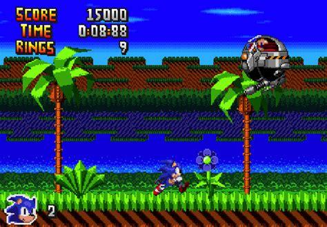 Sonic Fan Game Sonic Genesis Demo Released Sega Addicts