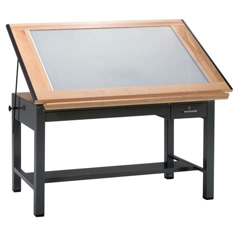 drafting table with lightbox professional looking prototype creation the opinionated