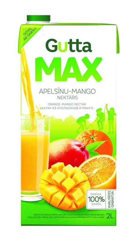 Apelsīnu-mango nektārs - Gutta Gutta