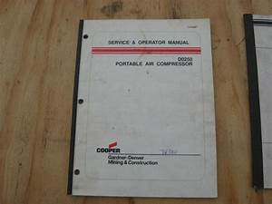 Sell Gardner Denver D0250 Air Compressor Service Operators
