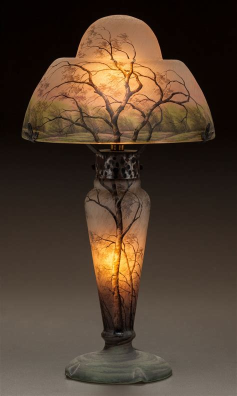 a tiffany studios border peony floor l led the way at