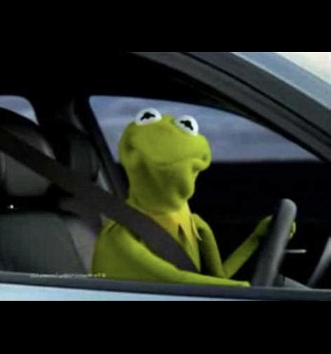 Kermit The Frog Meme Driving - kermit driving blank template imgflip