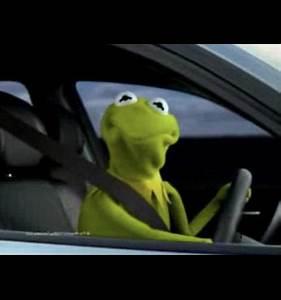 Kermit Driving Blank Template - Imgflip