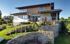 Terrasse Am Hang : fertighaus bauen am hang mit fertigkeller kein problem ~ A.2002-acura-tl-radio.info Haus und Dekorationen