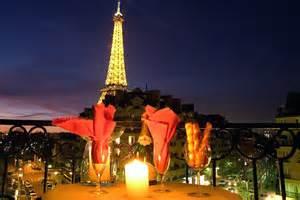 Eiffel Tower Bedroom Decor Photo
