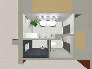 Plan 3d Salle De Bain : salle de bain plan 3d ~ Melissatoandfro.com Idées de Décoration