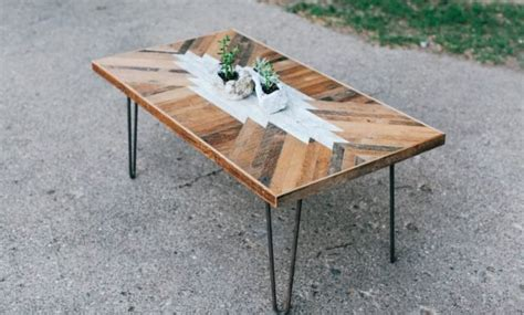 16 Superb Handmade Coffee Table And Side Table Designs For