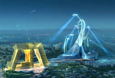 love modern architecture  magnificent urban plan