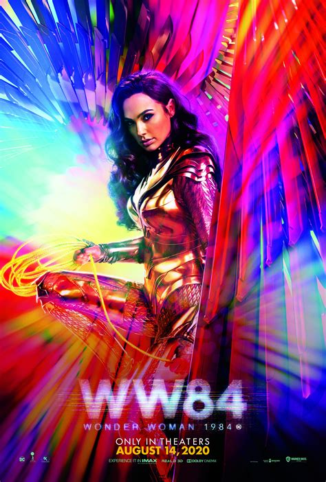 Www 1984 international poster 4k. Wonder Woman 1984 Character Posters Feature New Release ...